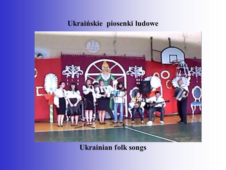 Ukraińskie piosenki ludowe