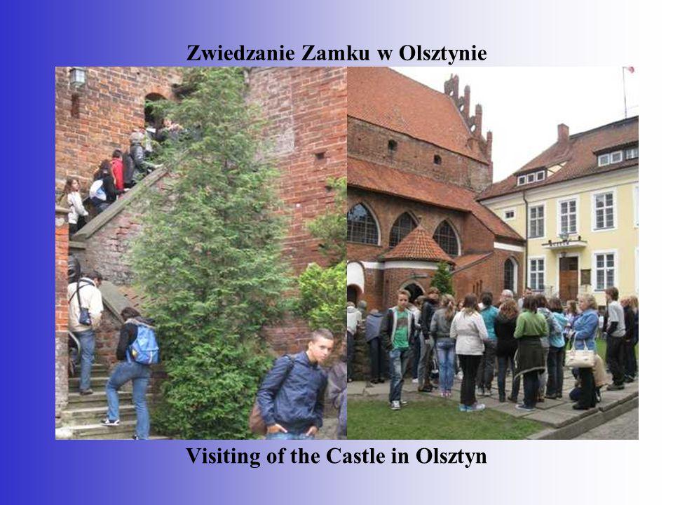 Zwiedzanie Zamku w Olsztynie