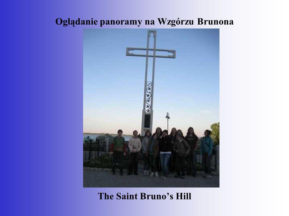 Oglądanie panoramy na Wzgórzu Brunona
