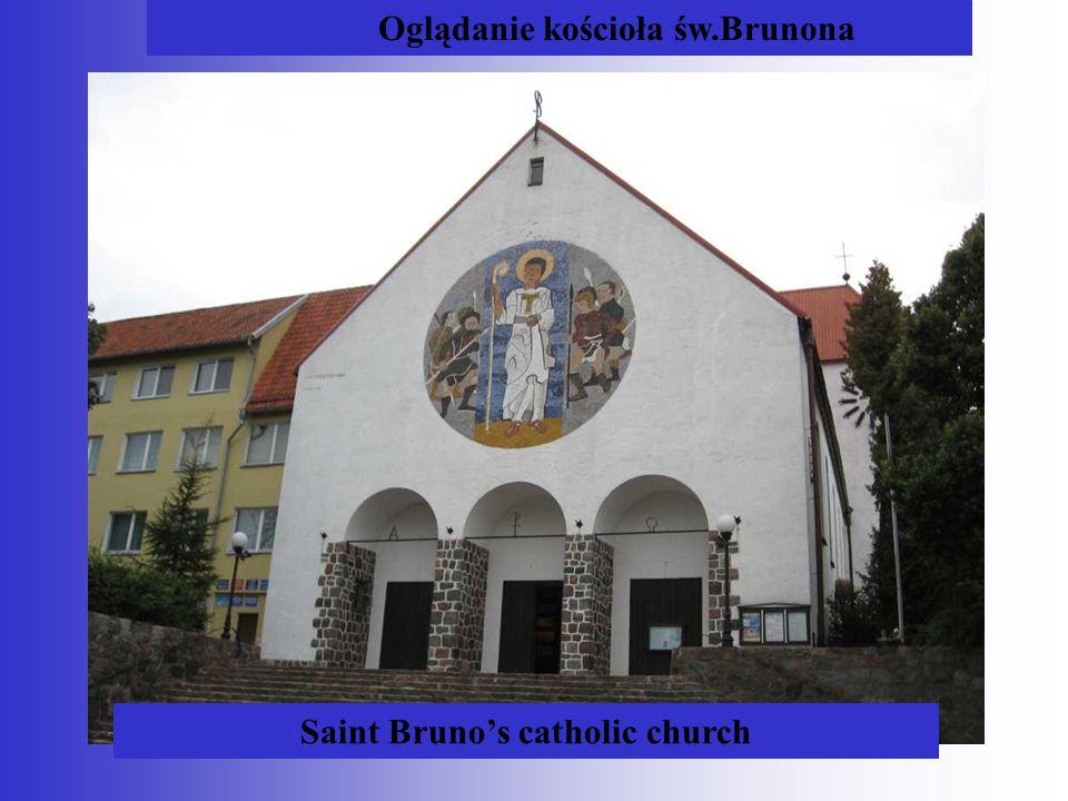 Oglądanie kościoła św.Brunona Saint Bruno's catholic church