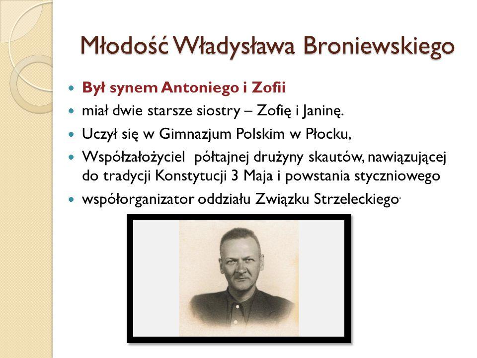Młodość Władysława Broniewskiego