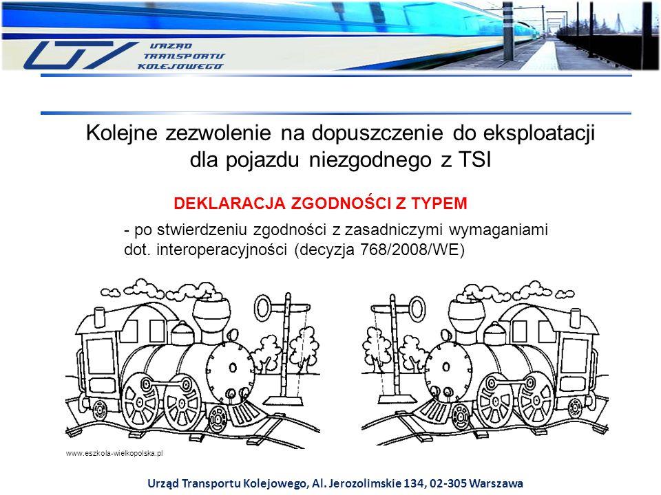 Kolejne zezwolenie na dopuszczenie do eksploatacji dla pojazdu niezgodnego z TSI