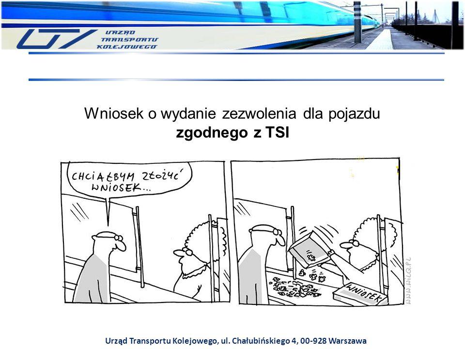 Urząd Transportu Kolejowego, ul. Chałubińskiego 4, 00-928 Warszawa