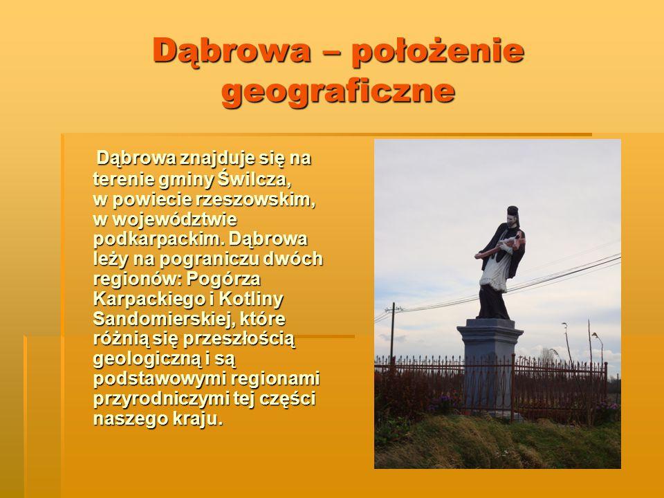 Dąbrowa – położenie geograficzne