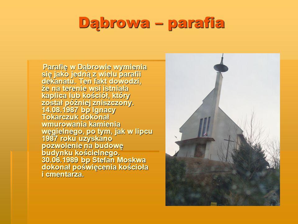 Dąbrowa – parafia