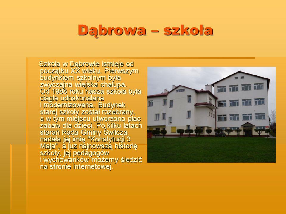 Dąbrowa – szkoła