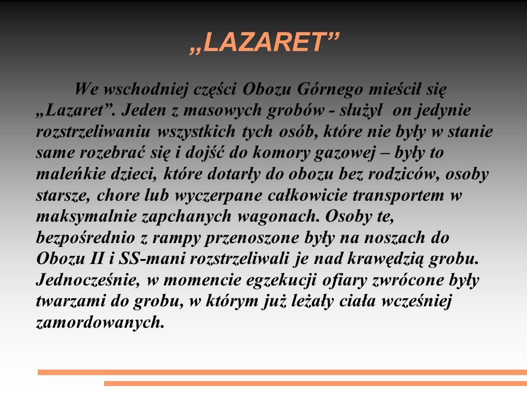 """LAZARET"