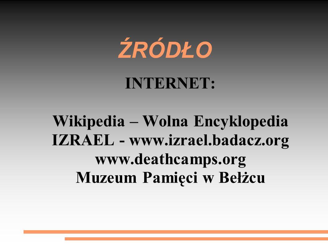 ŹRÓDŁO INTERNET: Wikipedia – Wolna Encyklopedia