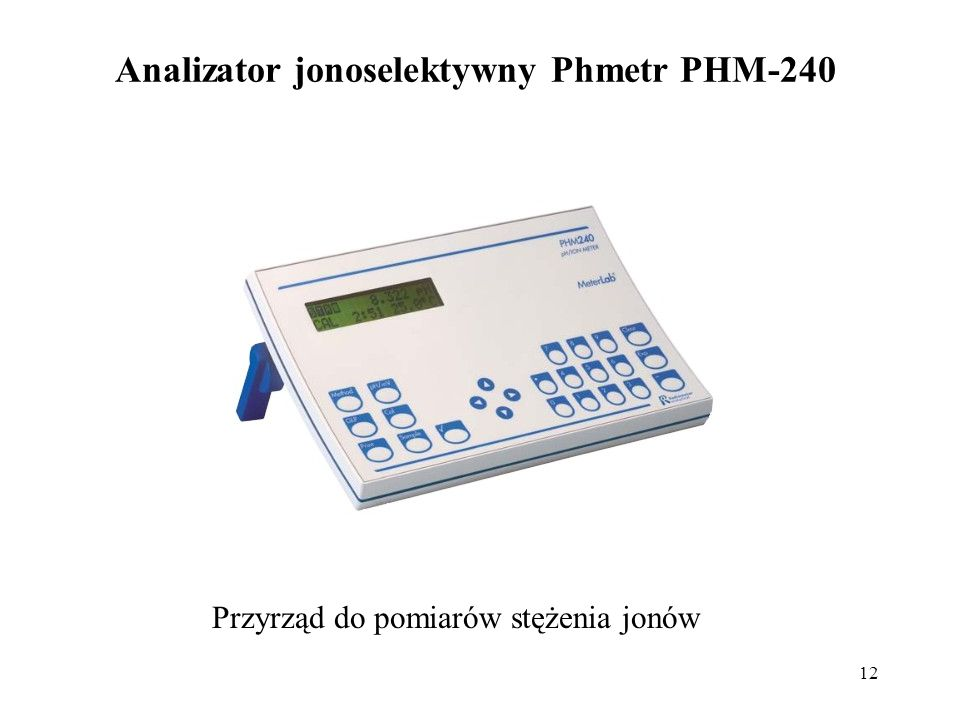 Analizator jonoselektywny Phmetr PHM-240