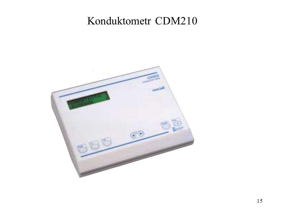 Konduktometr CDM210 15