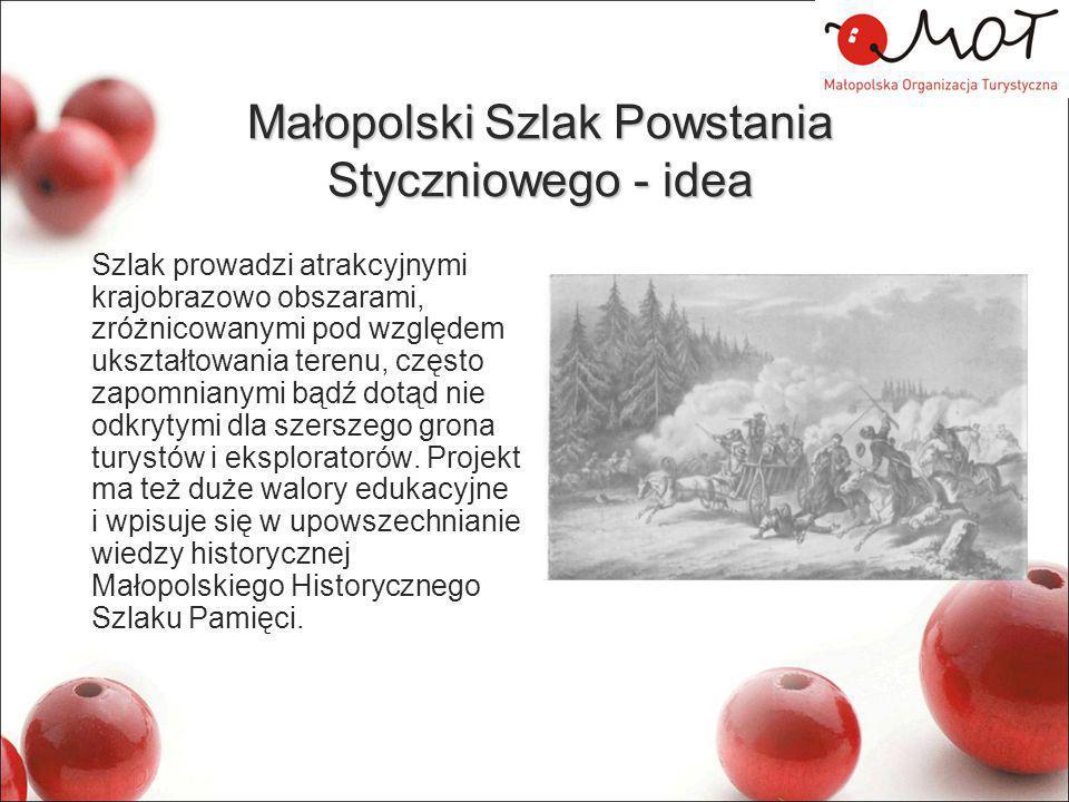 Małopolski Szlak Powstania Styczniowego - idea