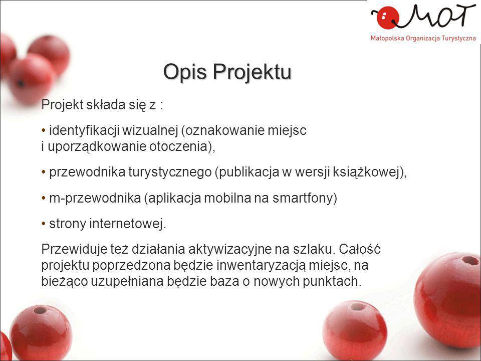 Opis Projektu Projekt składa się z :