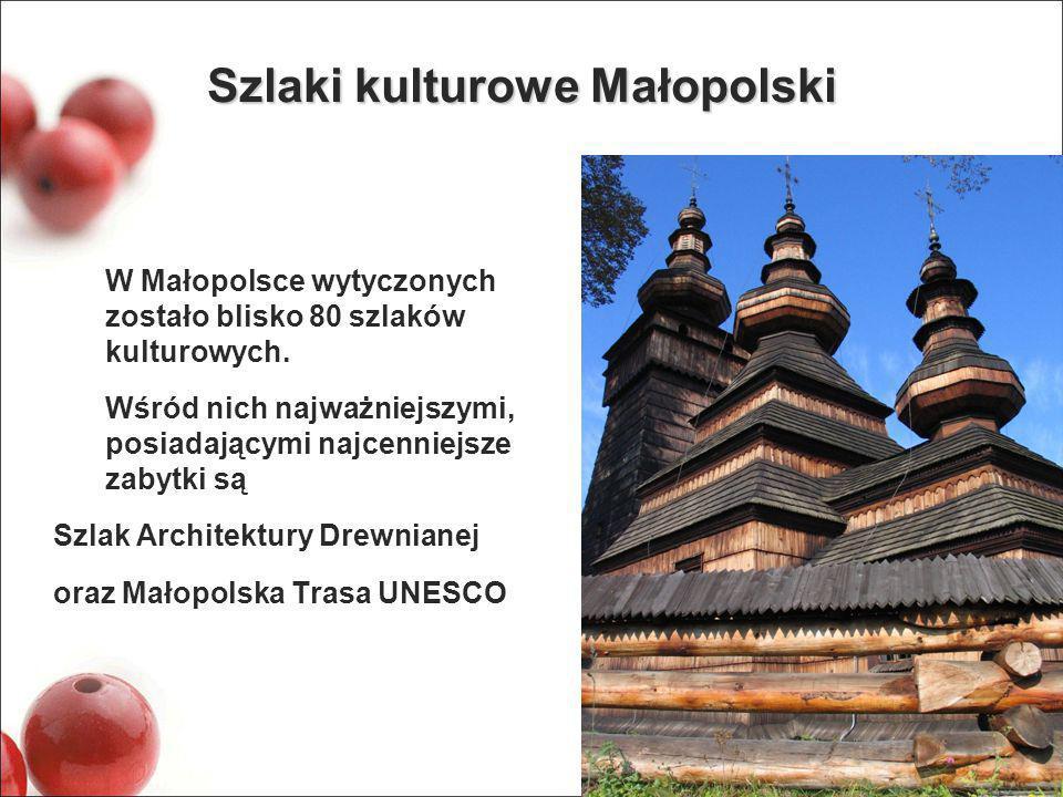 Szlaki kulturowe Małopolski