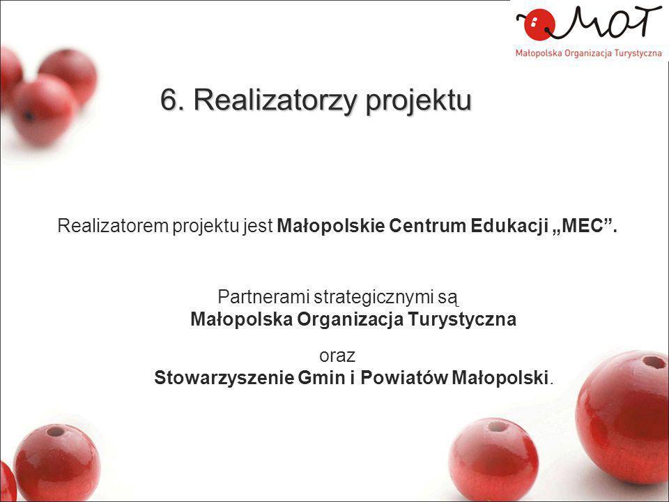 6. Realizatorzy projektu