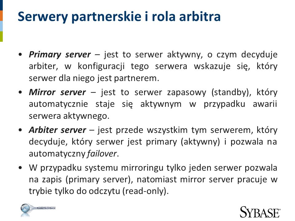 Serwery partnerskie i rola arbitra