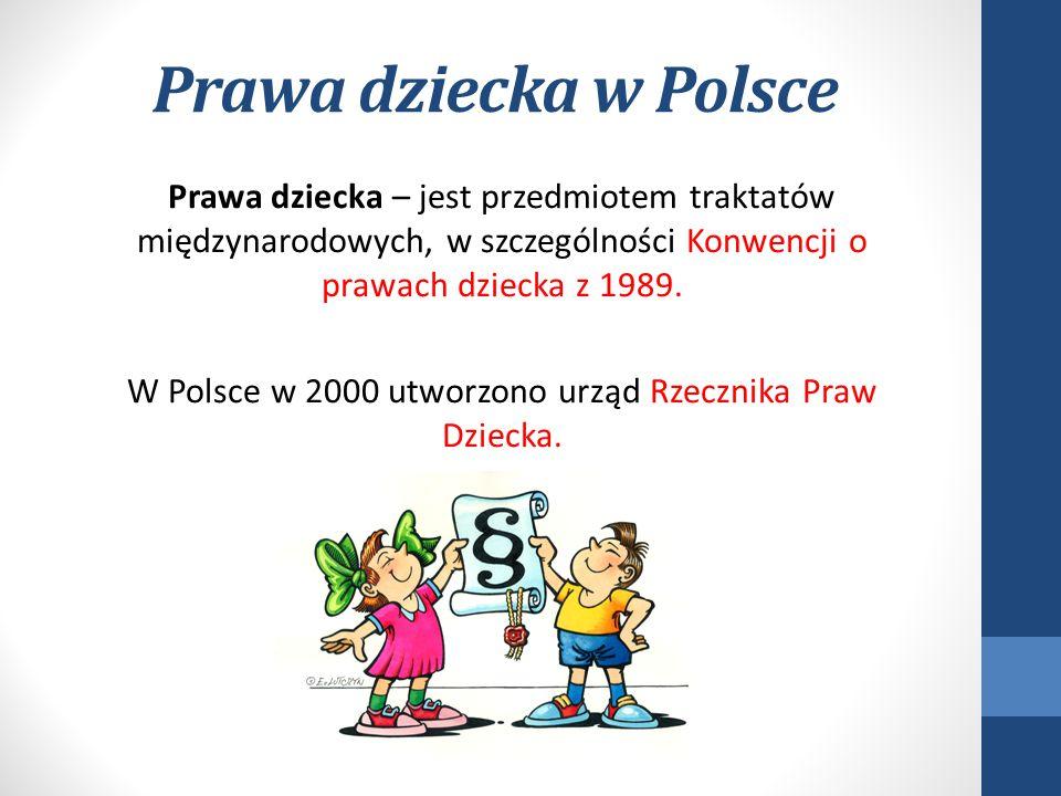 Prawa dziecka w Polsce