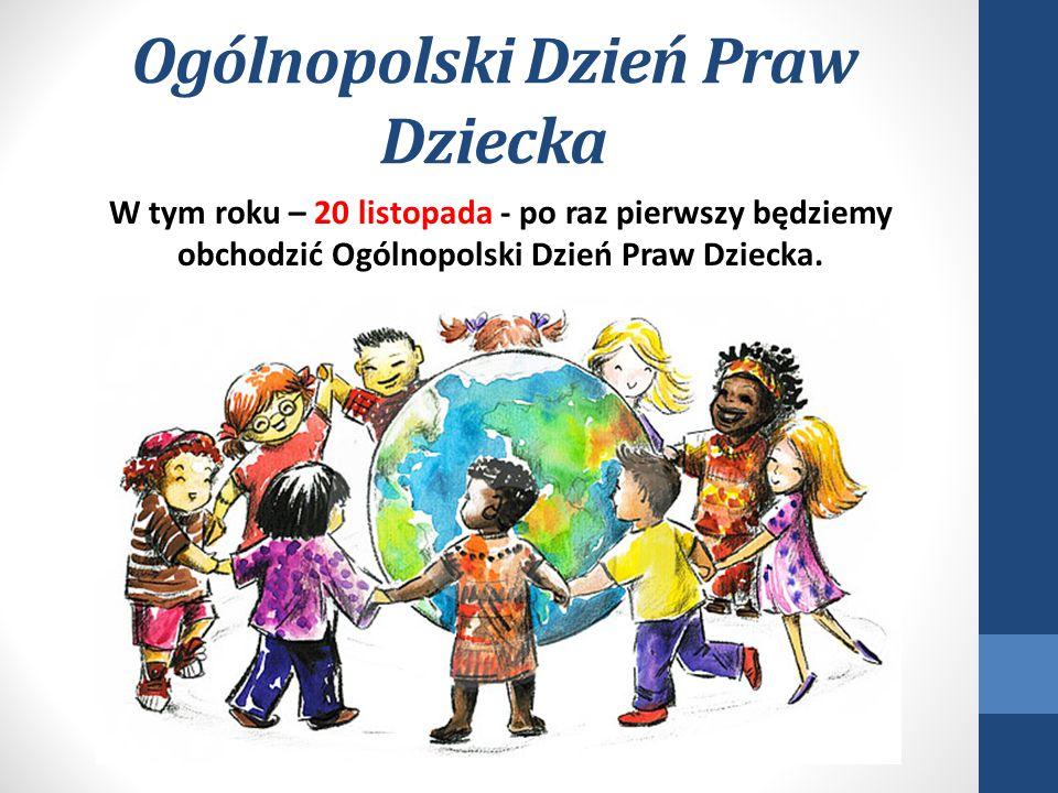 Ogólnopolski Dzień Praw Dziecka