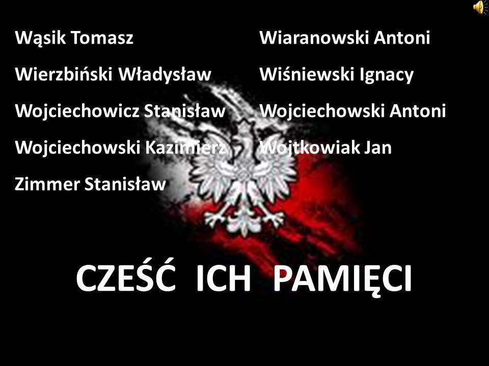 Wąsik Tomasz. Wiaranowski Antoni Wierzbiński Władysław