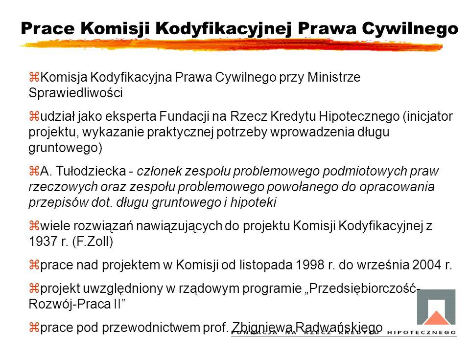 Prace Komisji Kodyfikacyjnej Prawa Cywilnego