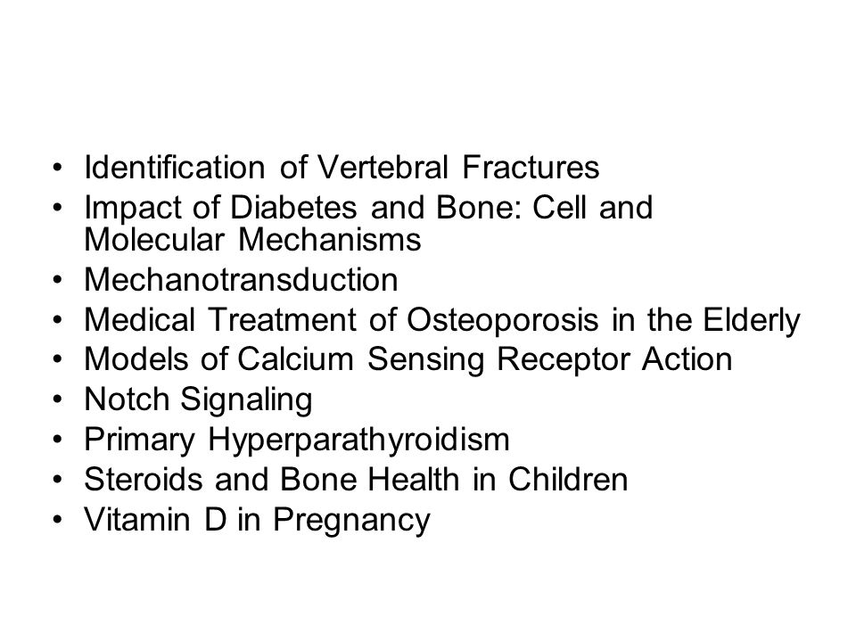 Identification of Vertebral Fractures