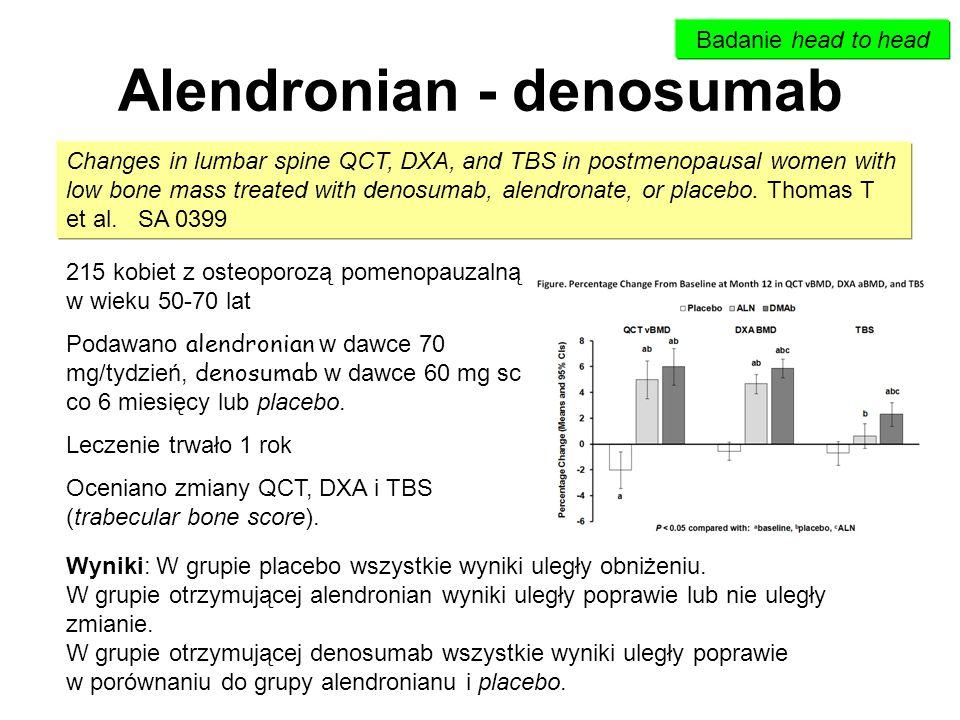 Alendronian - denosumab