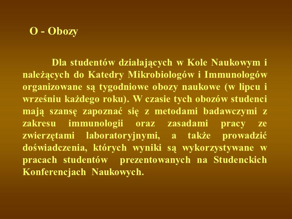 O - Obozy