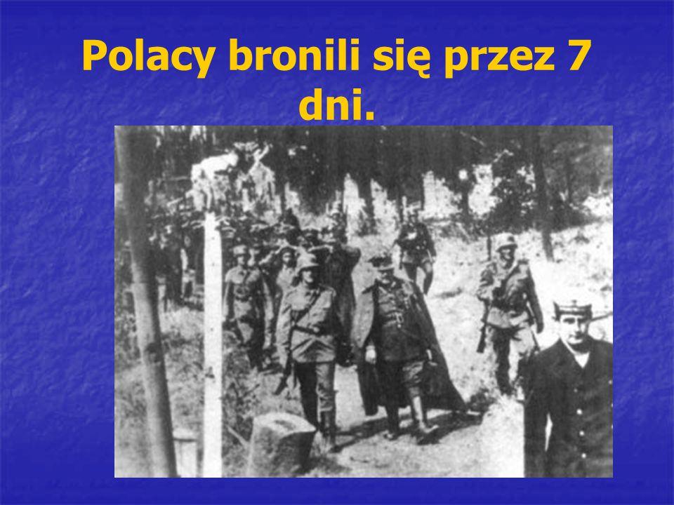 Polacy bronili się przez 7 dni.