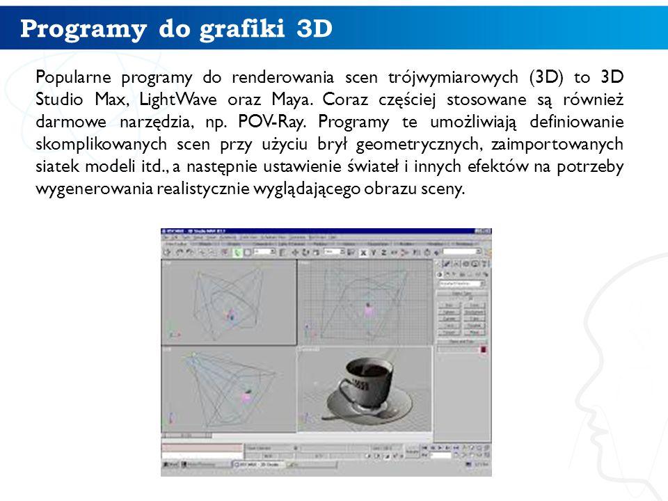 Programy do grafiki 3D