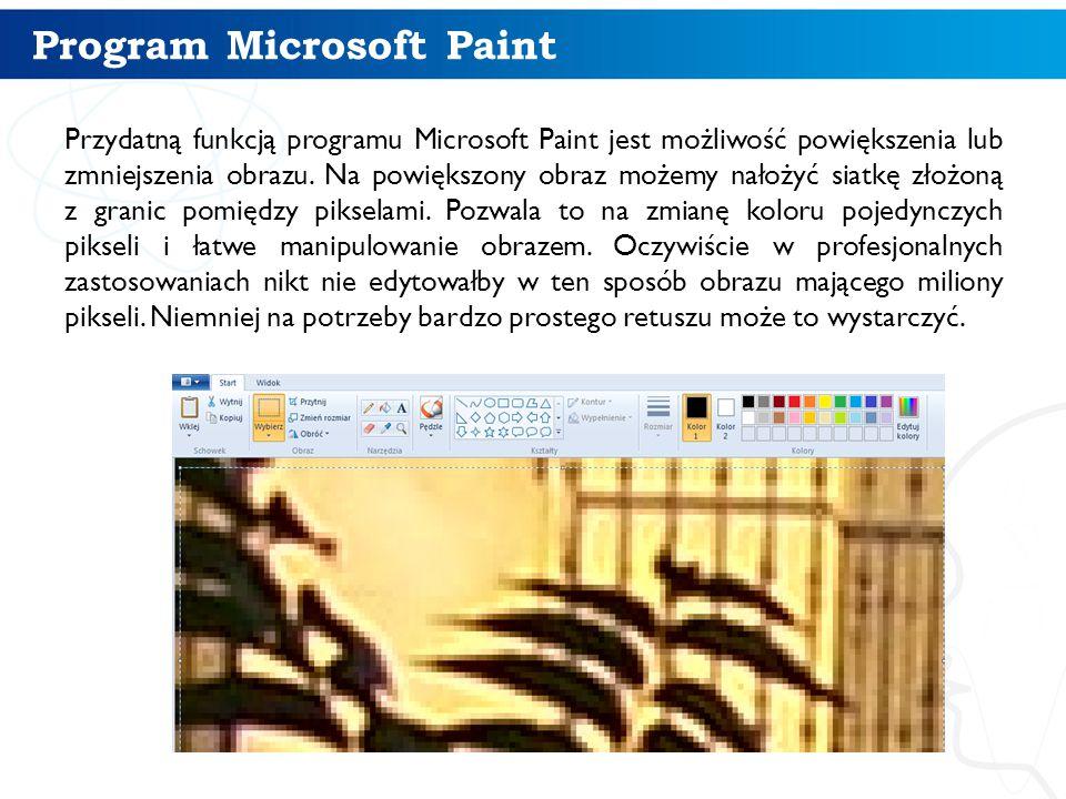 Program Microsoft Paint