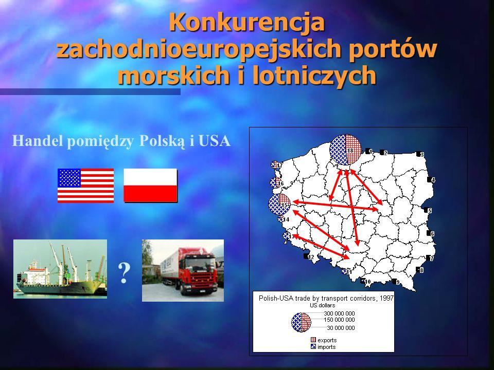 Konkurencja zachodnioeuropejskich portów morskich i lotniczych