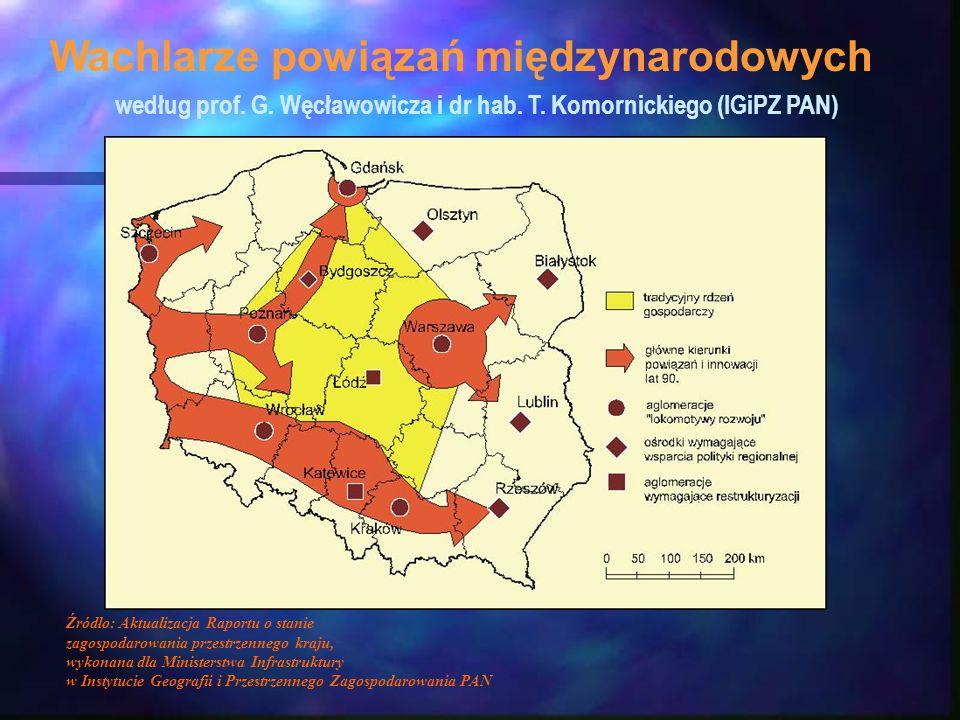według prof. G. Węcławowicza i dr hab. T. Komornickiego (IGiPZ PAN)