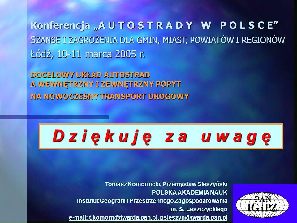 "Konferencja ""A U T O S T R A D Y W P O L S C E"