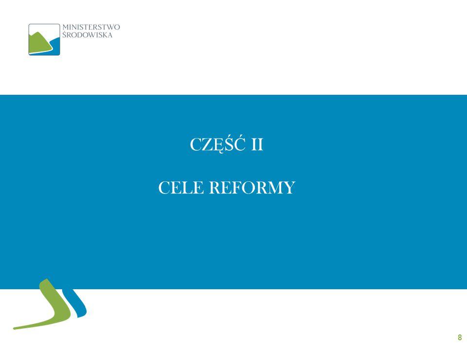 CZĘŚĆ II CELE REFORMY