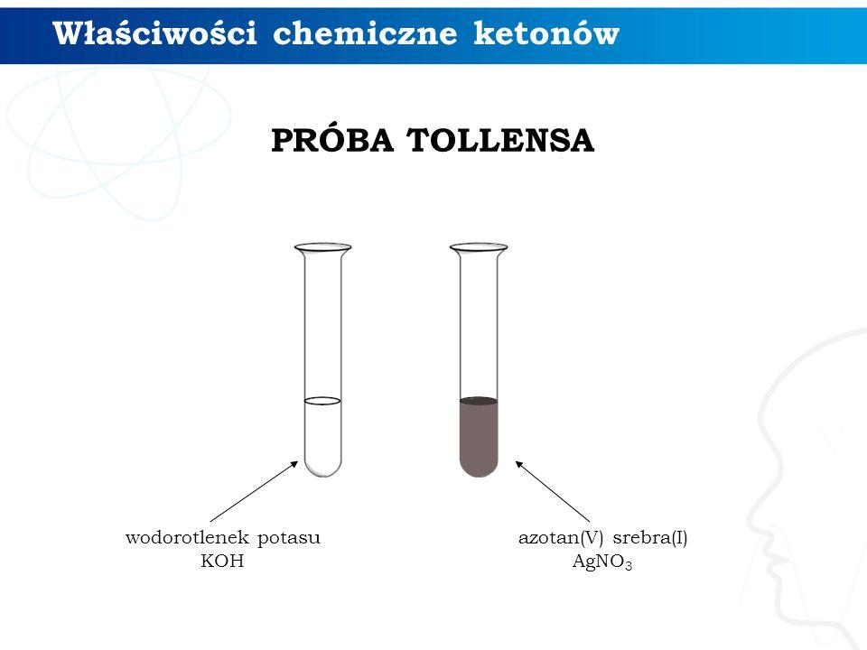 Właściwości chemiczne ketonów
