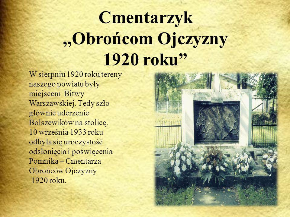 Cmentarzyk ,,Obrońcom Ojczyzny 1920 roku