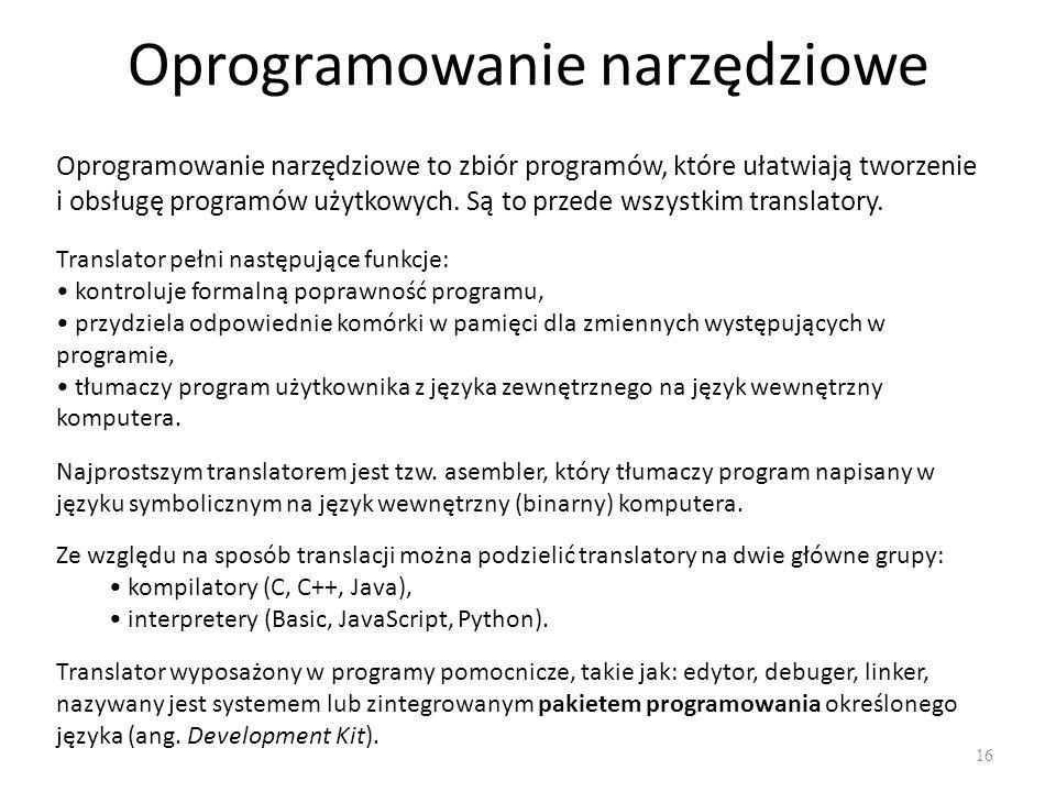 Oprogramowanie narzędziowe