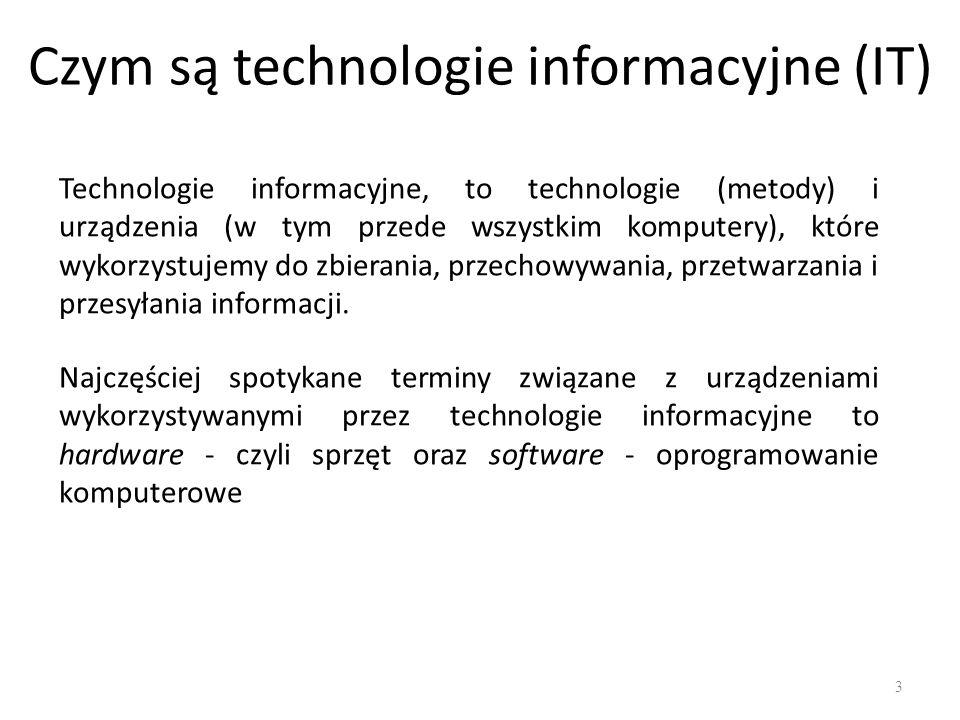 Czym są technologie informacyjne (IT)
