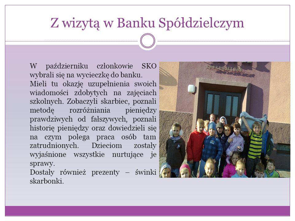 Z wizytą w Banku Spółdzielczym
