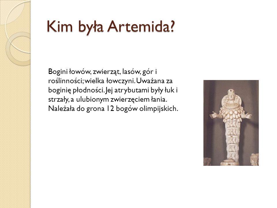 Kim była Artemida
