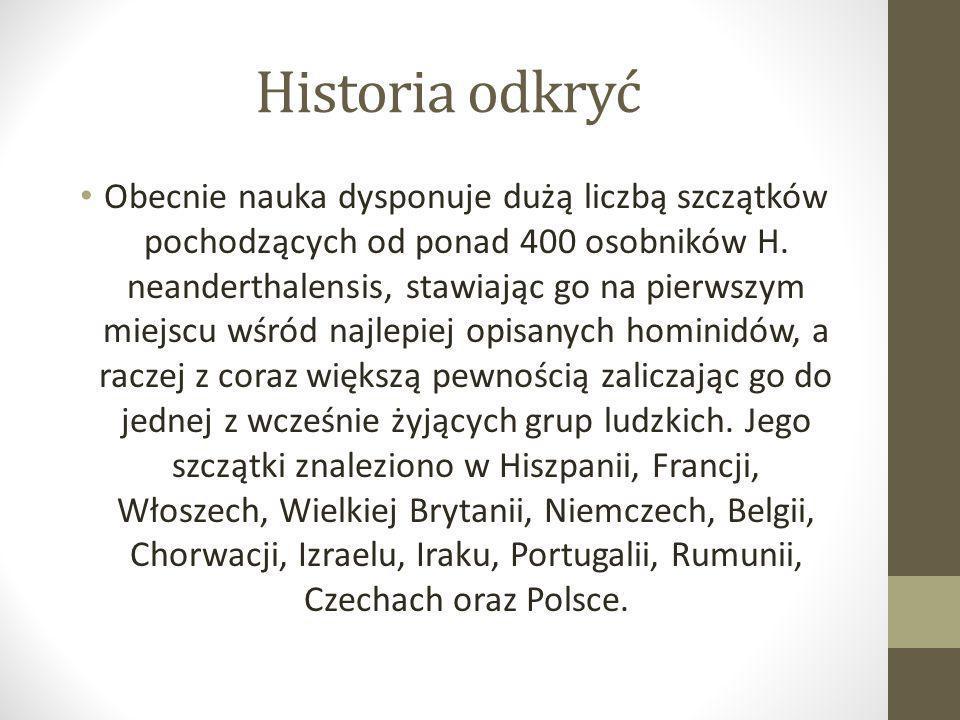 Historia odkryć