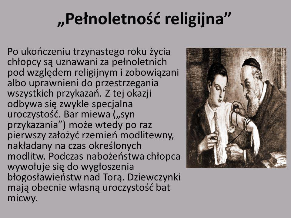 """""""Pełnoletność religijna"""