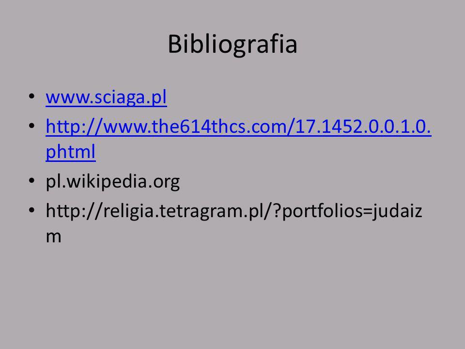 Bibliografia www.sciaga.pl