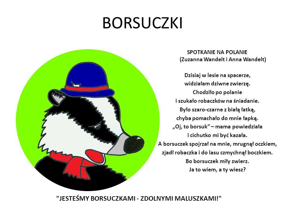 BORSUCZKI JESTEŚMY BORSUCZKAMI - ZDOLNYMI MALUSZKAMI!