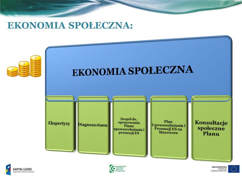 EKONOMIA SPOŁECZNA EKONOMIA SPOŁECZNA: Konsultacje społeczne Planu
