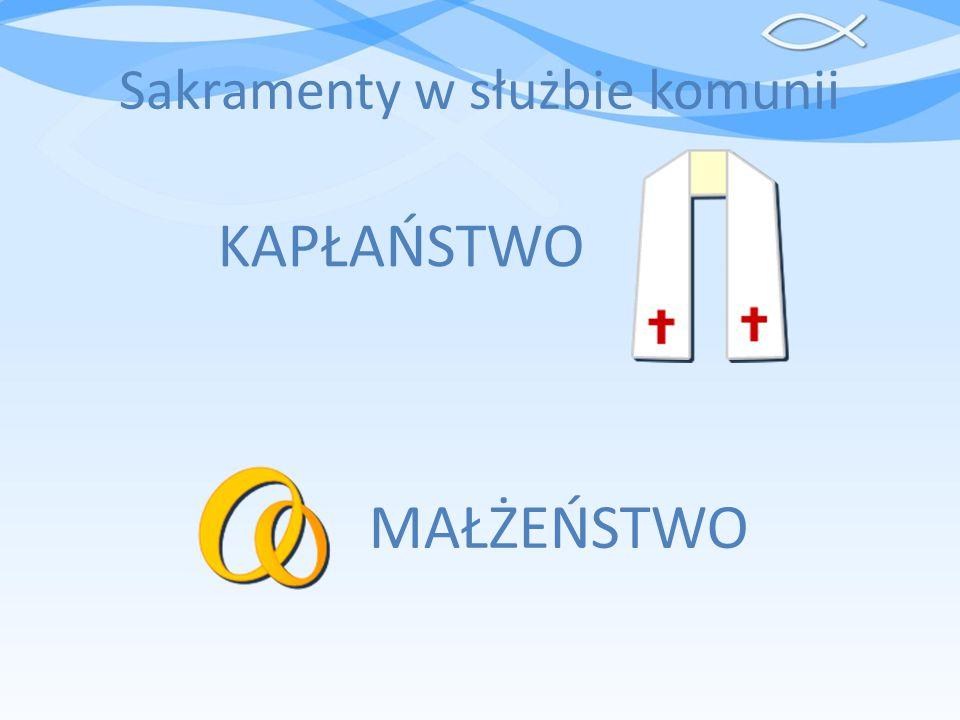 Sakramenty w służbie komunii