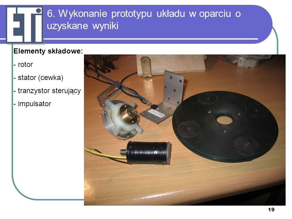 6. Wykonanie prototypu układu w oparciu o uzyskane wyniki