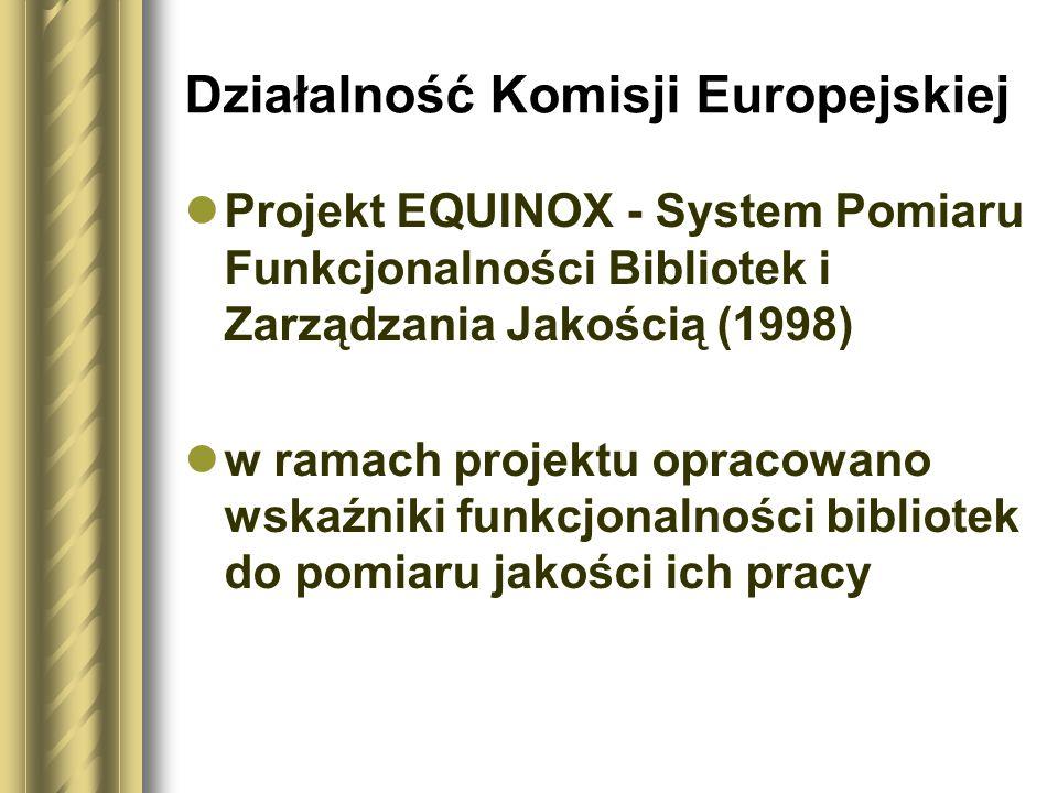 Działalność Komisji Europejskiej