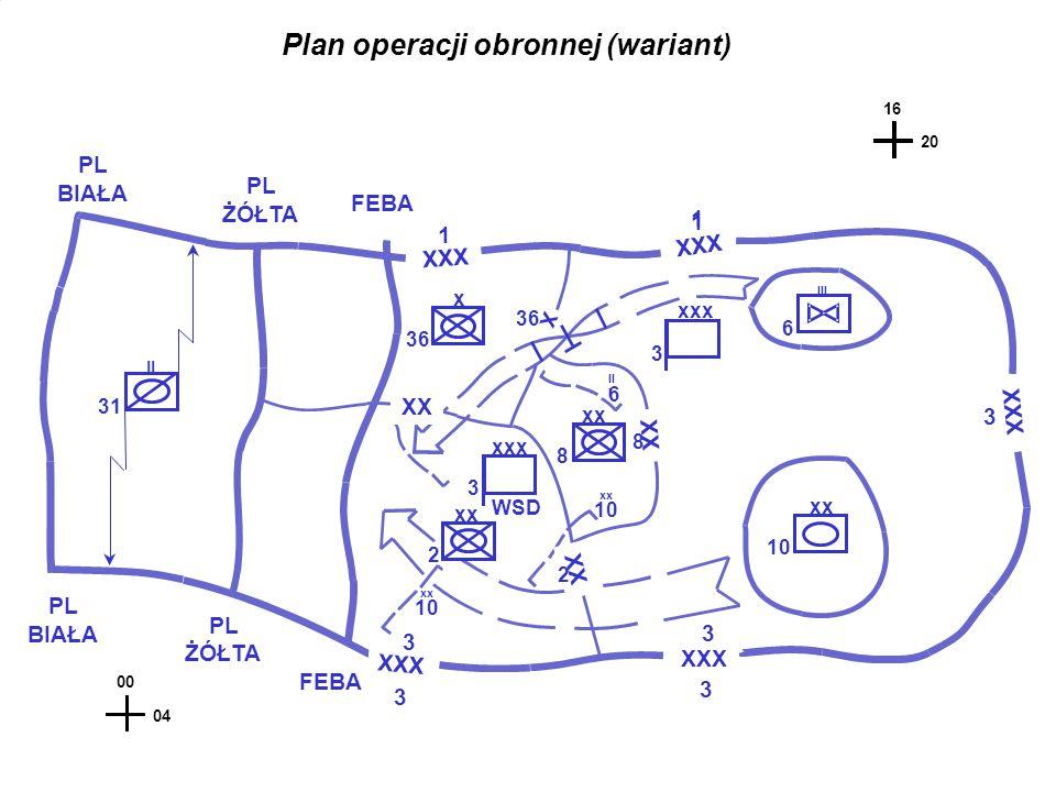 Plan operacji obronnej (wariant)