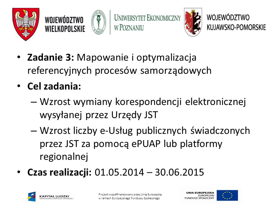 Zadanie 3: Mapowanie i optymalizacja referencyjnych procesów samorządowych
