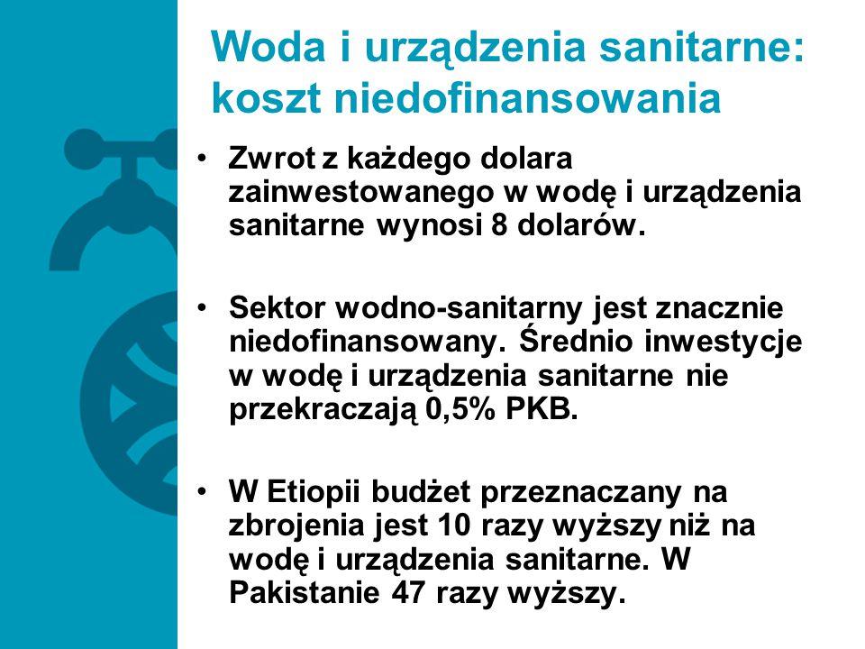 Woda i urządzenia sanitarne: koszt niedofinansowania